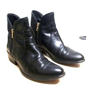 Steve Madden ankle boots black leather upper  8